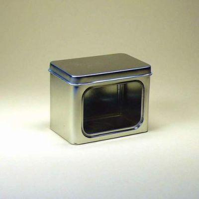 Silberfarben mit Fenster 50g