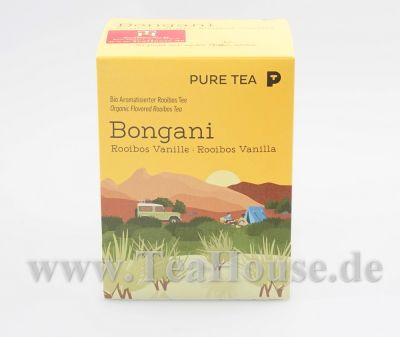 Bongani Rooibos Vanille - Pyramidenbeutel Bio