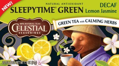 GREEN TEA - Decaf SLEEPYTIME GREEN Lemon Jasmine 20er