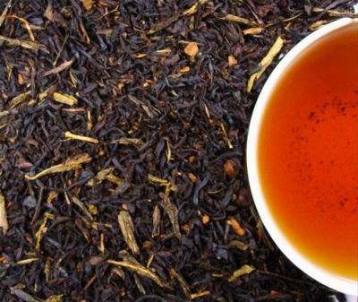 ZIMTPFLÄUMCHEN Schwarz/Grün-Tee