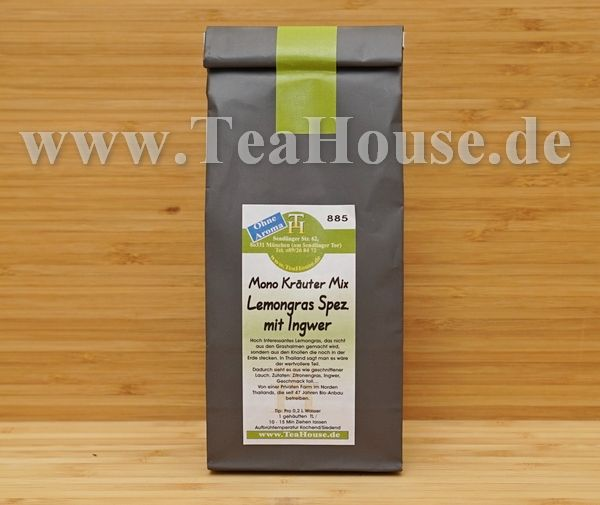 Tee vom TEA HOUSE München | Mono Kräuter Tee