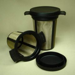 DAUERFILTER groß - schwarz