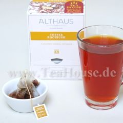 ROOIBOS TOFFEE - Pyramiden Beutel -