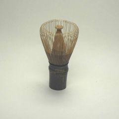 Matcha Besen Größe 80  dunkler Bambus
