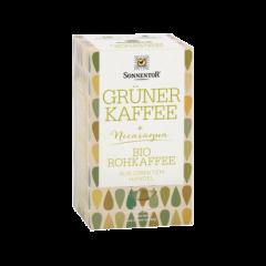 Grüner Kaffee - BIO Tassenbeutel