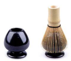 Matcha Besen Halter - schwarz