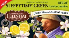 GREEN TEA - Decaf SLEEPYTIME GREEN Lemon Jasmine 20er