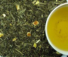 Entcoff. SENCHA EARL GREY Grüner Tee